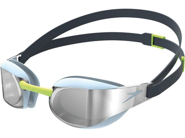 speedo Fastskin Elite Mirror Goggles blue/silver